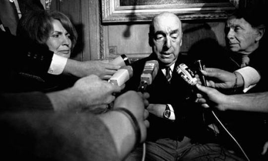 Pablo Neruda, the diplomat and poet