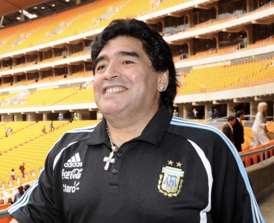 Diego Maradona: his birth chart